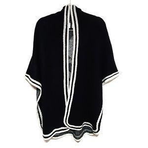 BCBG MAXAZRIA Knit Poncho